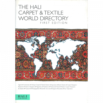 The Hali Carpet & Textile World Directory
